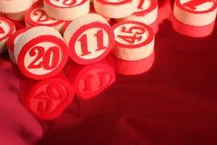 2011- números del bingo Imagen de archivo libre de regalías