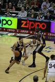 2011 NBA tutto il giocatore Deron Williams della stella Fotografia Stock