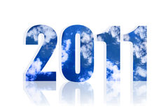 2011 New Year Stock Image