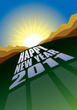 2011 new year Royalty Free Stock Photos