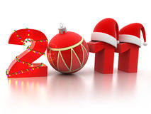 2011 new year Royalty Free Stock Images