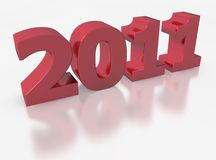 2011 for the new year Stock Image