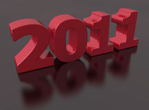 2011 for the new year Stock Photography