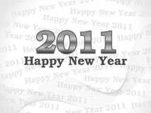 2011 New year Royalty Free Stock Photo