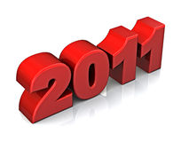 2011 new year concept Royalty Free Stock Photography