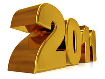 2011 new year concept Royalty Free Stock Image