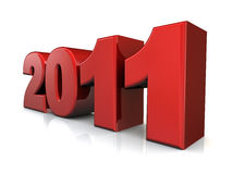 2011 new year concept Stock Photo