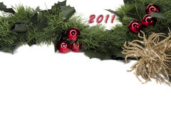 2011 new year gerland frame Royalty Free Stock Photo