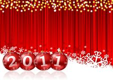 2011 new year illustration Stock Photography