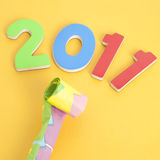 2011 New Year Party Stock Images