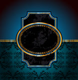 2011 New Year Royal Dinner Invitation. Background for Stylish Flyers Stock Images
