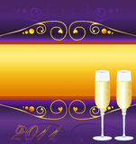 2011 new years card Stock Image