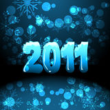 2011 new years card Stock Photography