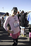2011 New York City Marathon Runner Royalty Free Stock Photos