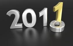 2011 - next year Stock Image