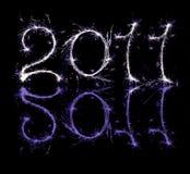 2011 Nieuwe Vooravond Year?s Vector Illustratie
