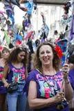 2011年notting狂欢节的小山 库存图片