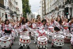 2011, Notting Heuvel Carnaval Royalty-vrije Stock Foto