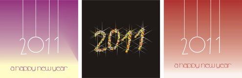 2011 nowy rok Ilustracja Wektor