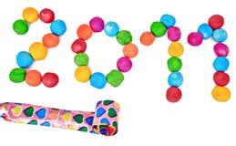 2011 nowy rok Zdjęcie Stock