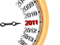 2011 nowy rok Zdjęcia Royalty Free