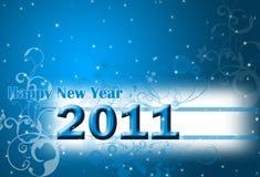 2011 nowy rok Fotografia Stock