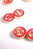 2011 - numéros de bingo-test Photos stock