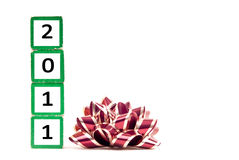 2011 nuovo anno Immagine Stock