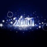 2011 nuovo anno Immagini Stock