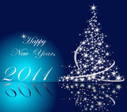 2011 nya år Royaltyfria Foton