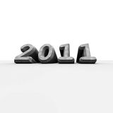 2011 nya år Royaltyfri Bild