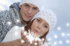 2011 nya år för helgdagsafton Arkivbilder