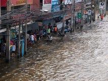 2011 powódź Thailand Zdjęcie Royalty Free