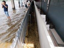 2011 powódź Thailand Obrazy Royalty Free