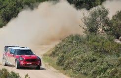 2011 Rally d'Italia Sardegna. Sordo - Mini - SS11 Su Filigosu stock photography