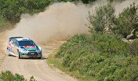 2011 Rally d'Italia Sardegna Stock Photos