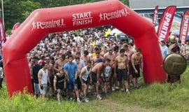 2011 Ras van de Sprint van Ottawa het Spartaanse Royalty-vrije Stock Afbeelding