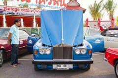 2011 samochodu festiwalu hin Hua parady rocznik Fotografia Stock