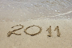 2011 in Sand Stock Photography