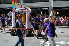 2011 Seattle Pride Parade stock image