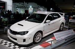2011 STi Subaru bij NAIAS royalty-vrije stock afbeeldingen