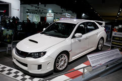 2011 Subaru STi at NAIAS Royalty Free Stock Images