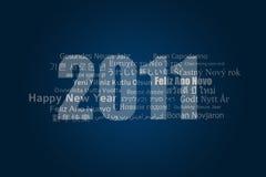2011 szczęśliwych nowy rok Zdjęcia Royalty Free