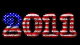 2011 szczęśliwych nowy rok Zdjęcie Royalty Free
