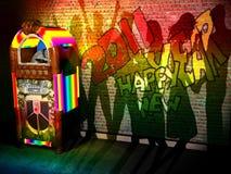 2011 szczęśliwych szaf grająca Obrazy Royalty Free