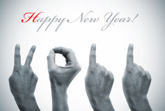 2011 szczęśliwych nowy rok Obraz Stock