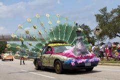 2011 sztuki samochodowa Houston parada obraz stock