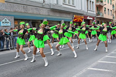 2011 underhållande san för karnevalmajoretteremo show Royaltyfri Fotografi
