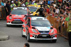 2011 WRC Rally Acropolis Stock Photo