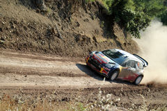 2011 WRC Rally Acropolis Royalty Free Stock Photos